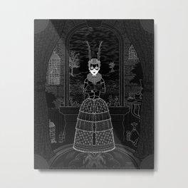 Parallaxium Princess Edia Metal Print