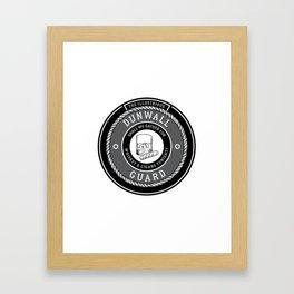 Whiskey & Cigars (Grey) Framed Art Print