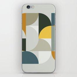 Mid Century Geometric 13 iPhone Skin