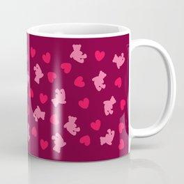 Teddies and hearts Coffee Mug