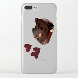 Chocolate Brownie Clear iPhone Case