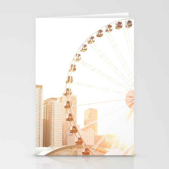 Chicago's Ferris Wheel Stationery Cards
