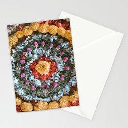 Bali Flower Mandala Stationery Cards