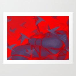 Silver Mountain No.1 Art Print