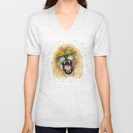 Lion II Unisex V-Neck
