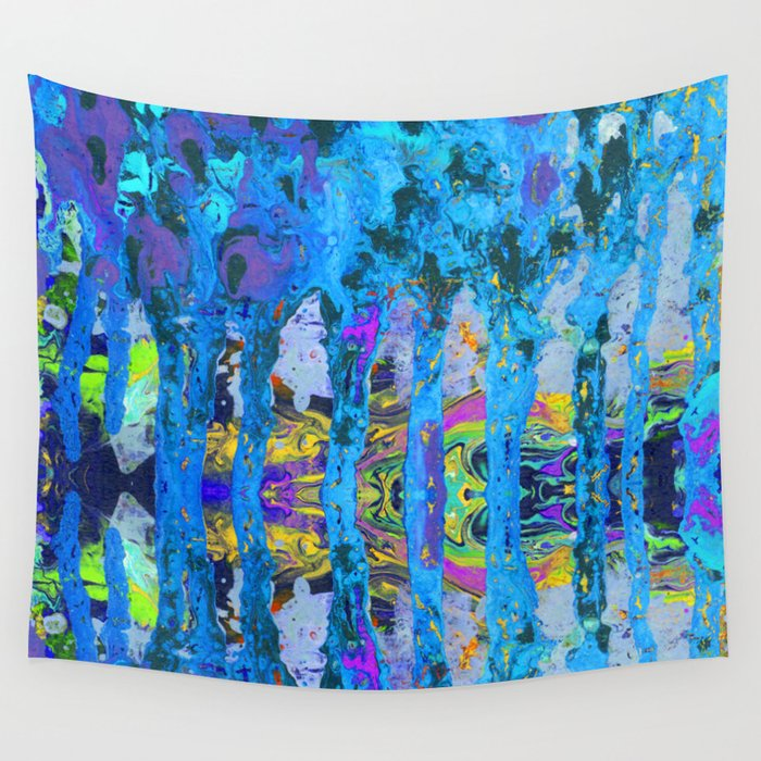 Peeking Through The Pursuit of Happiness a Mesmerizing Experience by annmariescreations Wall Tapestry