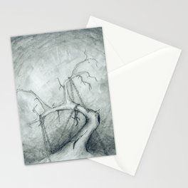 Tree Crippled by Chains Stationery Cards
