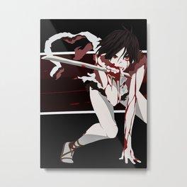blood anime Metal Print