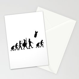 Nuclear Bomb Evolution Stationery Cards