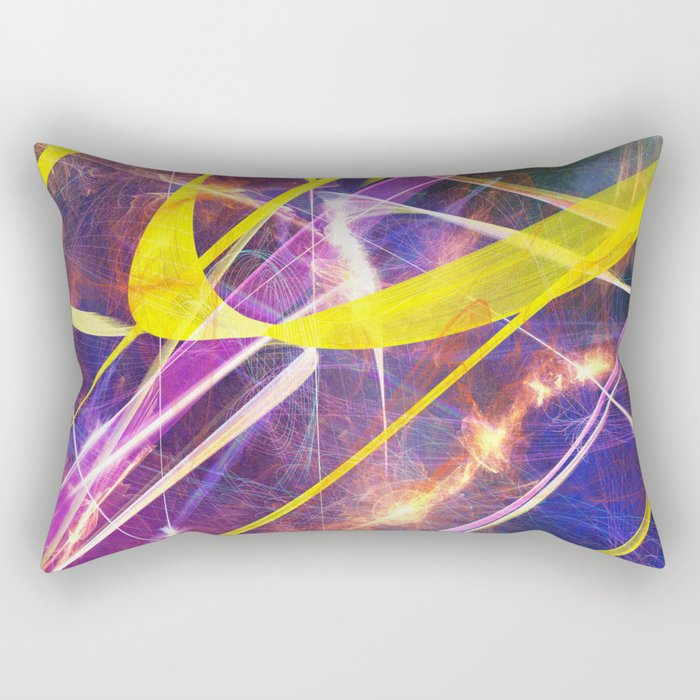 Spacetime Rectangular Pillow