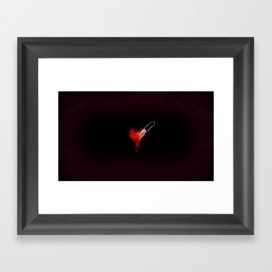 Flirting With The Idea Framed Art Print
