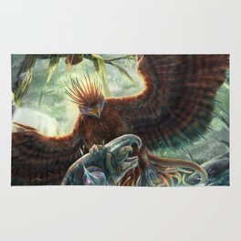 Scorpion Tailed Hawk Rug