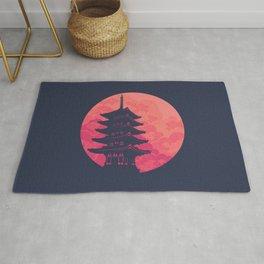Pagoda Sunset 2 Rug