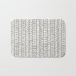 Mud cloth - Grey Arrowheads Bath Mat