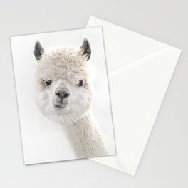 PEEKY ALPACA Stationery Cards