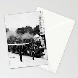 Vintage Locomotive Ride - Paris Exposition - 1889 Stationery Cards