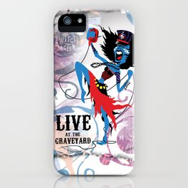 Merideath - Lead Vocals. The Twitch Doctors iPhone Case