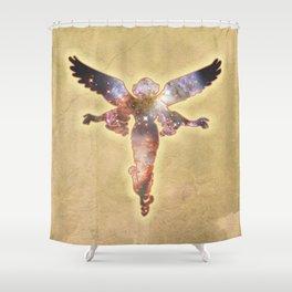 Cosmic Angel Shower Curtain