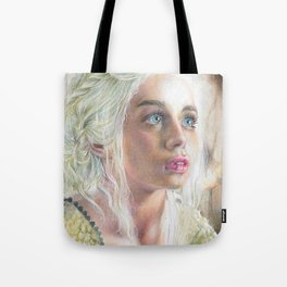 Queen of Dragons Tote Bag