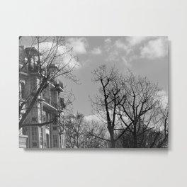 Paris. Canal Saint Martin Metal Print