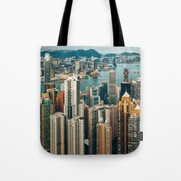 Golden Harbour Tote Bag