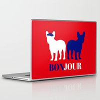 bonjour Laptop & iPad Skins featuring Bonjour by Laura Maria Designs