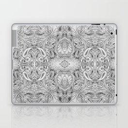 Black, White, & Grey Laptop & iPad Skin