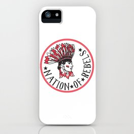 Nation of Rebels iPhone Case