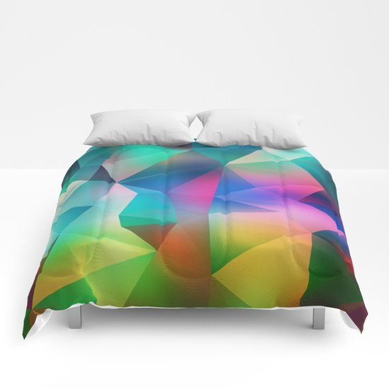 Crystal pattern Comforters