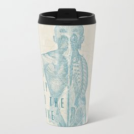 If I Only Had The Nerve Metal Travel Mug