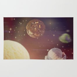Planets of the iceshapes Rug