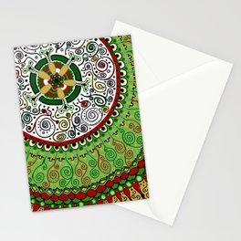 Christmas Mandala Stationery Cards