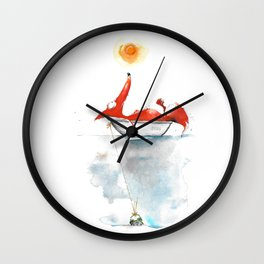 Moment mal. Wall Clock