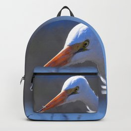 Great Egret Backpack