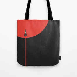 to new horizons Tote Bag