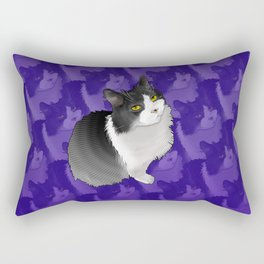 Spider Man the Cat Rectangular Pillow