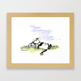Afternoon Siesta Cat Nap Art Framed Art Print