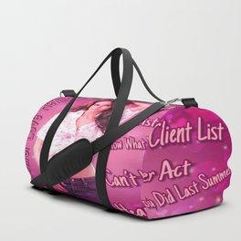 Love Hearts My Hewitt Duffle Bag