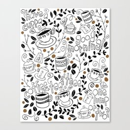 Coffee, Tea & Thee Canvas Print