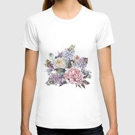 Watercolor Bouquet T-shirt