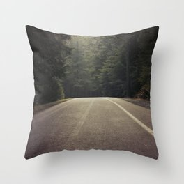 The Shadows and The Road We Traveled Throw Pillow
