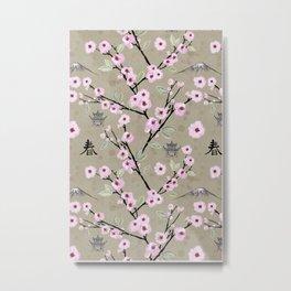 Japanese Spring Metal Print