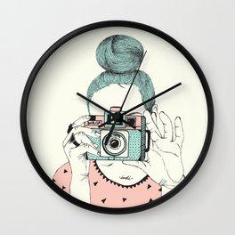 """""""Say cheese"""" Wall Clock"""