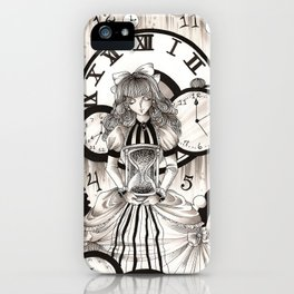 As Time Transcends iPhone Case