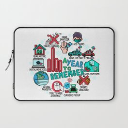 2020 Highlights - A Year to Remember  Laptop Sleeve