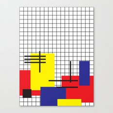 squares on squares on rectangles Canvas Print