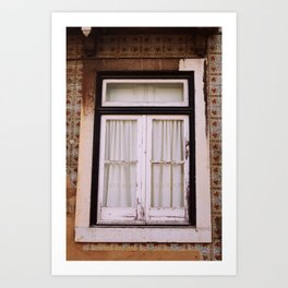 Old window Art Print