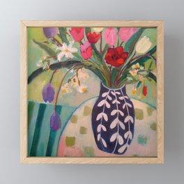 Spring Luncheon Bouquet Framed Mini Art Print