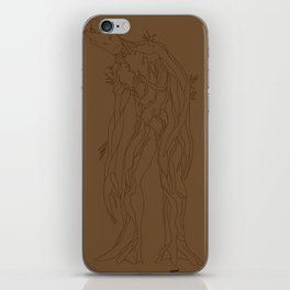 Floral Colossus iPhone Skin