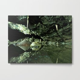 Cheddar Cheese Metal Print